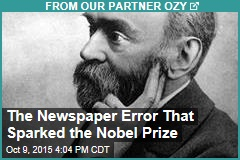 The Newspaper Error That Sparked the Nobel Prize