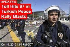 Dozens Killed at Turkish Peace Rally