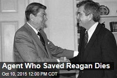 Agent Who Saved Reagan Dies