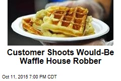 Customer Shoots Would-Be Waffle House Robber