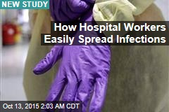 Hospital Gowns, Gloves Spread Infections