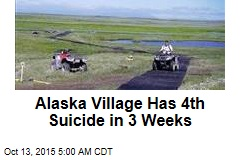 Alaska Village Has 4th Suicide in 3 Weeks