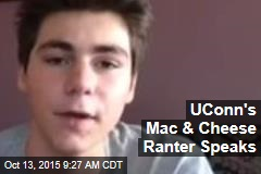 UConn's Mac & Cheese Ranter Speaks