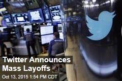 Twitter Announces Mass #Layoffs