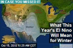 What This Year's El Nino Will Mean for Winter