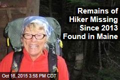 Remains of Hiker Missing Since 2013 Found in Maine