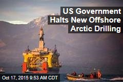 US Government Halts New Offshore Arctic Drilling