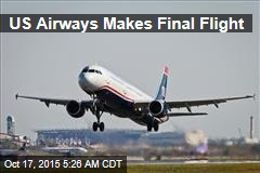 US Airways Makes Final Flight