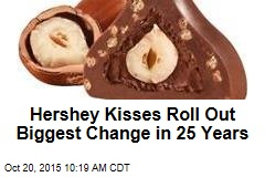 Hershey Kisses Roll Out Biggest Change in 25 Years