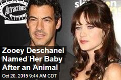 Zooey Deschanel Named Her Baby After an Animal