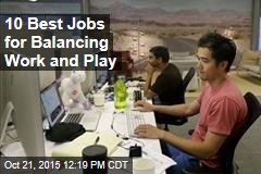 10 Best Jobs for Balancing Work and Play