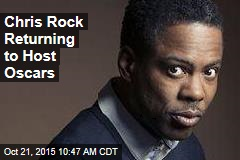Chris Rock Returning to Host Oscars