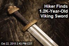 Hiker Finds 1.2K-Year-Old Viking Sword