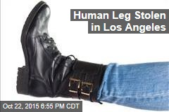 Human Leg Stolen in Los Angeles