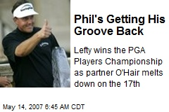 Phil's Getting His Groove Back