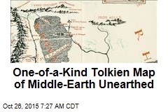 One-of-a-Kind Tolkien Map of Middle Earth Unearthed