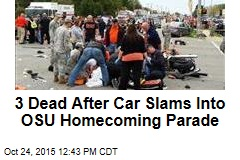 3 Dead After Car Slams Into OSU Homecoming Parade