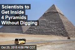 Scientists Find New Way to Look Inside Pyramids