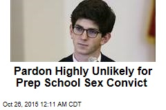 Pardon Highly Unlikely for Prep School Sex Convict