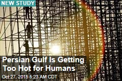 The Gulf Is Becoming Too Hot for Humans