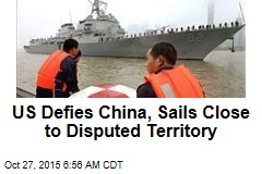 US Defies China, Sails Close to Disputed Territory