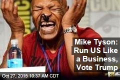 Here's Who Mike Tyson Just Endorsed for President