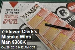7-Eleven Clerk's Mistake Wins Man $380K