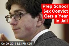 Prep School Sex Convict Gets a Year in Jail