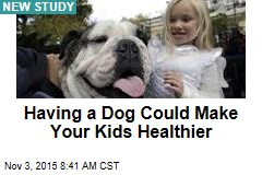 Having a Dog Could Make Your Kids Healthier