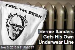 Bernie Sanders Gets His Own Underwear Line
