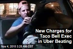 New Charges for Exec in Uber Beating