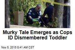 Murky Tale Emerges as Cops ID Dismembered Toddler