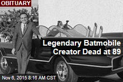 Legendary Batmobile Creator Dead at 89