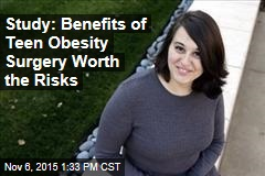 Study: Benefits of Teen Obesity Surgery Worth the Risks