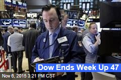 Dow Ends Week Up 47