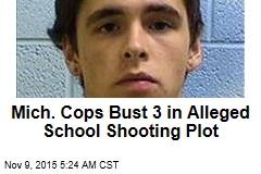 Cops: Michigan School Shooting Foiled