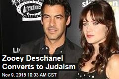 Zooey Deschanel Converts to Judaism
