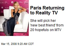 Paris Returning to Reality TV