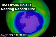 The Ozone Hole Is Nearing Record Size