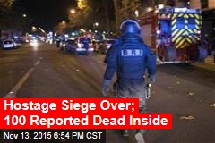 Hostage Siege Over; 100 Reported Dead Inside