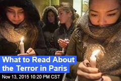 What to Read About the Terror in Paris