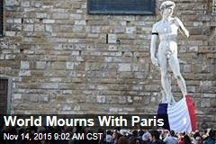 World Mourns With Paris