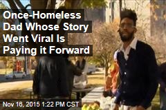 Once-Homeless Dad Whose Story Went Viral Is Paying it Forward