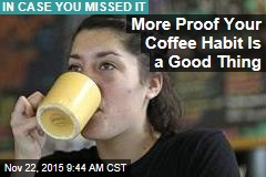 Why Your Coffee Habit Is a Good Thing