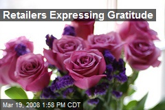 Retailers Expressing Gratitude
