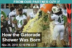 How the Gatorade Shower Was Born