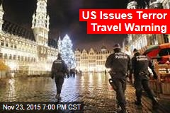 US Issues Terror Travel Warning