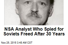 NSA Agent Who Spied for Soviets Freed After 30 Years
