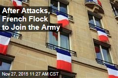 After Attacks, French Flock to Join the Army