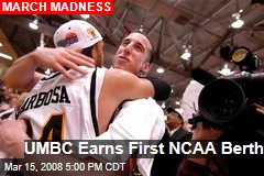 UMBC Earns First NCAA Berth